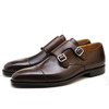 Crockett & Jones Lowndes Dark Brown Calf MADE IN ENGLAND画像