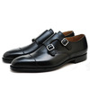Crockett & Jones lowndes Black Calf MADE IN ENGLAND画像
