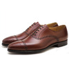 Crockett & Jones Malton Chestnut Burnished Calf MADE IN ENGLAND画像