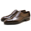 Crockett & Jones Audley Dark Brown Antique MADE IN ENGLAND画像