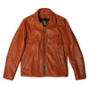 VANSON ENF SLIM FITTED SOFT COW LEATHER WHISKY TAN画像