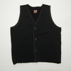Two Moon War Paint Series Sweat Vest with Deer Skin Piping 10137画像