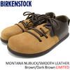 BIRKENSTOCK MONTANA NUBUCK/SMOOTH LEATHER Brown/Dark Brown LIMITED GS1006339画像