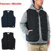 Vincent et Mireille Stitchless Down Vest VM72SD201M画像