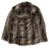 Supreme Schott Fur Peacoat LEOPARD画像