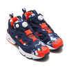 Reebok INSTAPUMP FURY ATMOS AWD COLLEGE NAVY/CAROTENE/WHITE atmos Exclusive BS9074画像