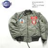 "Buzz Rickson's MA-1 ""77th TAC.FTR.SQ"" BR14113画像"