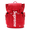 Supreme × LOUIS VUITTON Christpher Backpack PM RED画像