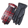 FULLCOUNT BRITISH WOOL CHECK GLOVES 6867画像