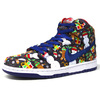 "NIKE DUNK HIGH TRD QS ""CONCEPTS"" ""LIMITED EDITION for NONFUTURE"" MULTI/BLU/RED/WHT 81758-446画像"