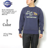 "Buzz Rickson's SET IN CREW SWEAT ""ANYTHING GOES"" BR67887画像"