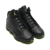 NIKE AIR JORDAN 13 RETRO BG BLACK/ALTITUDE GREEN 414574-042画像