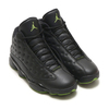 NIKE AIR JORDAN 13 RETRO BLACK/ALTITUDE GREEN 414571-042画像