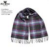 Glen Prince Vibrant Checked Lambswool Scarf SLS77-FV1300画像