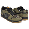 NIKE SB ZOOM DUNK LOW PRO MEDIUM OLIVE / BLACK 854866-209画像