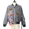 Doublet CHAOS PATCHES BOMBER BLOUSON 18SS04BL60画像