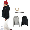 FRED PERRY Lady's #F5300 A-line Hooded Sweat画像