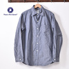 POST OVERALLS THE POST 3 LONGSLEEVE SHIRTS(#2212)CONE CHAMBRAY BLUE画像