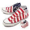 CONVERSE ALL STAR 100 PAIRFLAG SLIP OX STARS & BARS 32862640画像