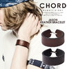 CHORD NUMBER EIGHT JASON LEATHER BRACELET N8M1H3-AC02画像