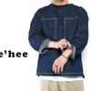 Ahe'hee AHDPO-L Denim Pullover Shirt画像