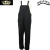 BLACK SIGN Old German Cord Cloth Button Fly Apron Overalls MIDNIGHT BLACK BSFP-17509B画像
