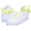 "NIKE AIR FORCE 1 HIGH 07 QS ""VIP"" MAGIC STICK white/white-volt-black 573967-101画像"
