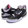 "NIKE AIR JORDAN 3 RETRO OG ""BLACK/CEMENT""black/fire red-cement grey 854262-001画像"