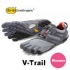 vibram FiveFingers V-Trail Grey/Black/Orange 17W6906画像
