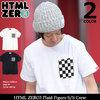 HTML ZERO3 Plaid Figure S/S Crew CT199画像
