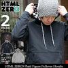 HTML ZERO3 Plaid Figure Pullover Hoodie PA151画像