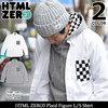 HTML ZERO3 Plaid Figure L/S Shirt SHT132画像