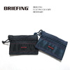 BRIEFING FLAT POUCH S MW BRM181607画像