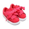 PUMA SUEDE HEART VALENTINE INFANT PARADISE PINK 365137-01画像