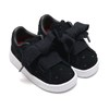 PUMA SUEDE HEART VALENTINE INFANT PUMA BLACK 365137-02画像