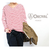 Orcival RC-9116 V-neck Basque Shirts Cotton Lourd画像