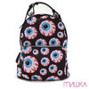 MISHKA KEEP WATCH PATTERN BACKPACK MULTI MSS183109画像