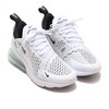 NIKE W AIR MAX 270 WHITE/BLACK-WHITE AH6789-100画像