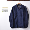 MOJITO ABSINTHE SHIRT Bar.2.0 8oz MILITARY DENIM 2082-1104画像