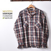 MOJITO ABSINTHE SHIRT Bar.2.0 MADRAS LINEN NATURAL 2082-1103画像