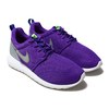 NIKE ROSHE ONE GS HYPER GRAPE/WOLF GREY-DP NIGHT 599729-505画像