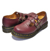 Dr.Martens 8065 MARY JANE SMOOTH CHERRY RED 20159600画像