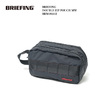 BRIEFING DOUBLE ZIP POUCH MW BRM181612画像