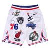 NIKE × Supreme NBA Teams Authentic Short WHITE画像