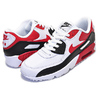 NIKE AIR MAX 90 LTR GS white/university red-blk 833412-107画像