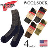 RED WING Deep Toe-capped Wool Boot Socks画像