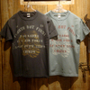 "TOYS McCOY MILITARY TEE SHIRT FOURTH BUT FIRST ""CHIEFS"" TMC1827画像"