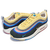 NIKE AIR MAX 1/97 VF SW ''VOTE FORWARD'' ''SEAN WOTHERSPOON'' LT BLUE FURY / LEMON WASH AJ4219-400画像