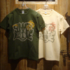 "TOYS McCOY MILITARY TEE SHIRT PEACE ""SUMMER OF LOVE"" TMC1808画像"