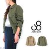 JOHNBULL Lady's #AL904 Miritary Shirt Jacket画像